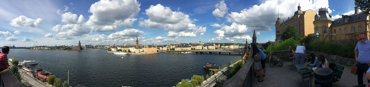 Panorama Scenic Lookout Scenic View Urban Landscape Urbanphotography Stockholm, Sweden OverviewPoint