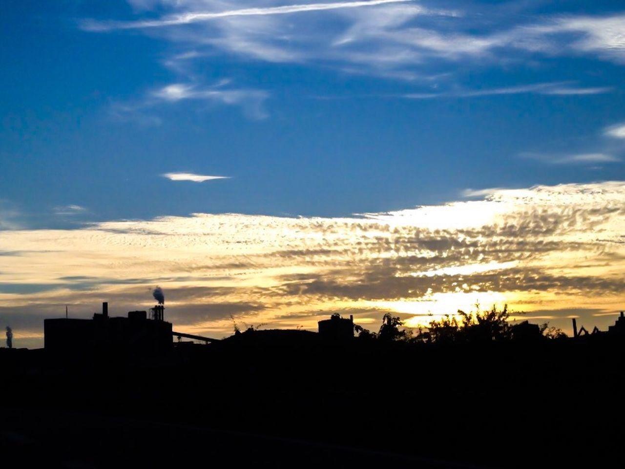 Sun Clouds And Sky Autumn Autobahn