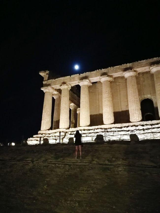 Sicily Italy Agrigento Valle Dei Templi MagnaGrecia Architecture Architectural Column Historic Ancient
