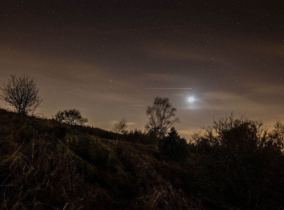 Star Gazing Night Photography Moon Yorkshire