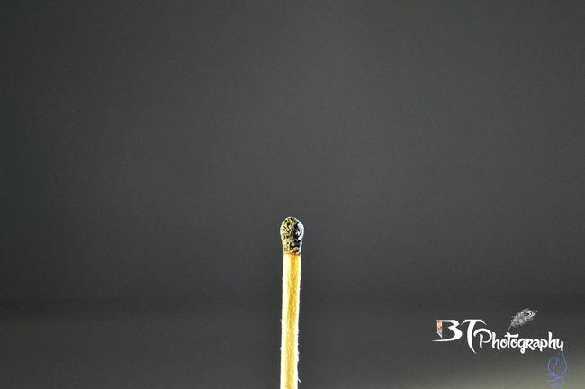 Match Stick Burned Out No People