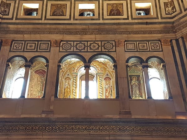 Architecture Indoors  Window Day No People Religion Low Angle View Built Structure Place Of Worship Close-up Santa Maria Del Fiore Italia Firenze, Italy Duomo Architecture