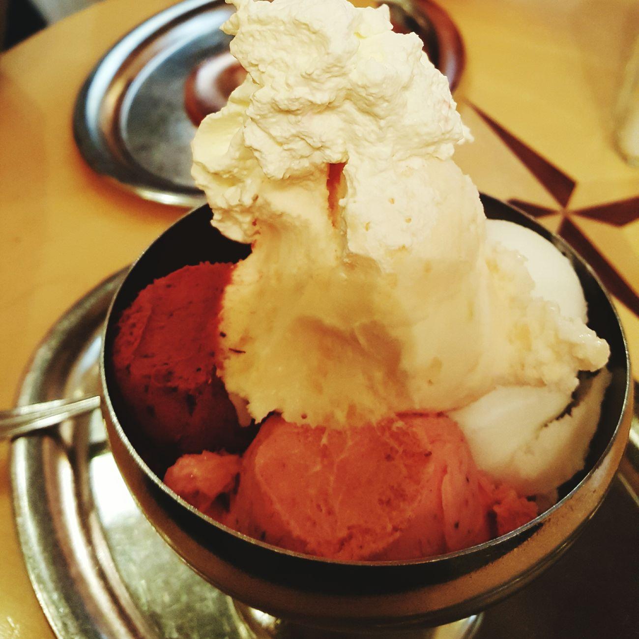 First icecream of the season. yummy! Food And Drink Sweet Food Icecream🍦