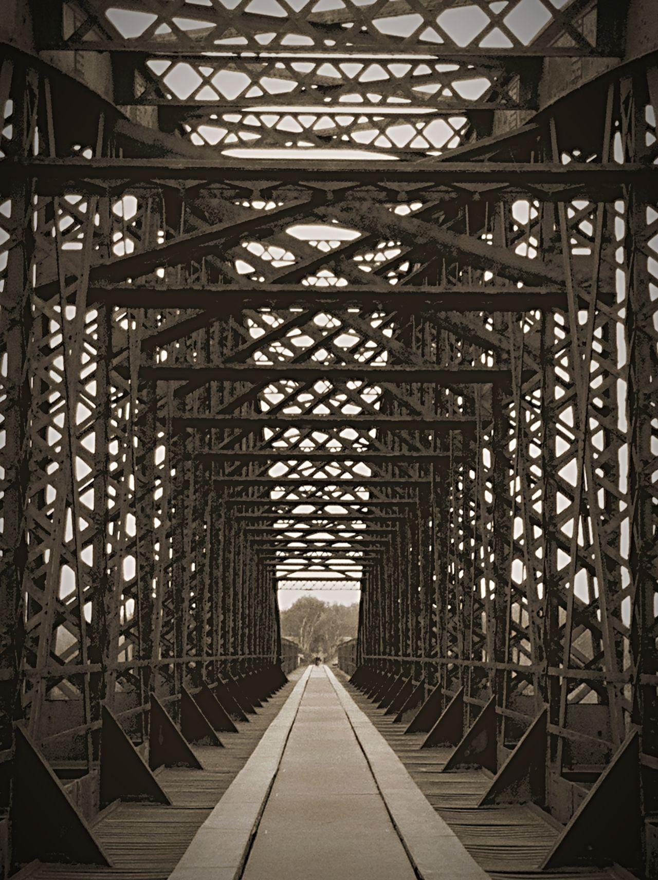 Bridge Spey Bay Blackandwhite Monochrome Garmouth Steel Structures Old Railway Bridge River Spey Black And White