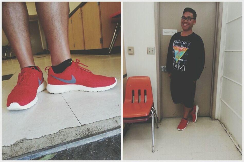 thanks for the shoes cuz Roshe Gang