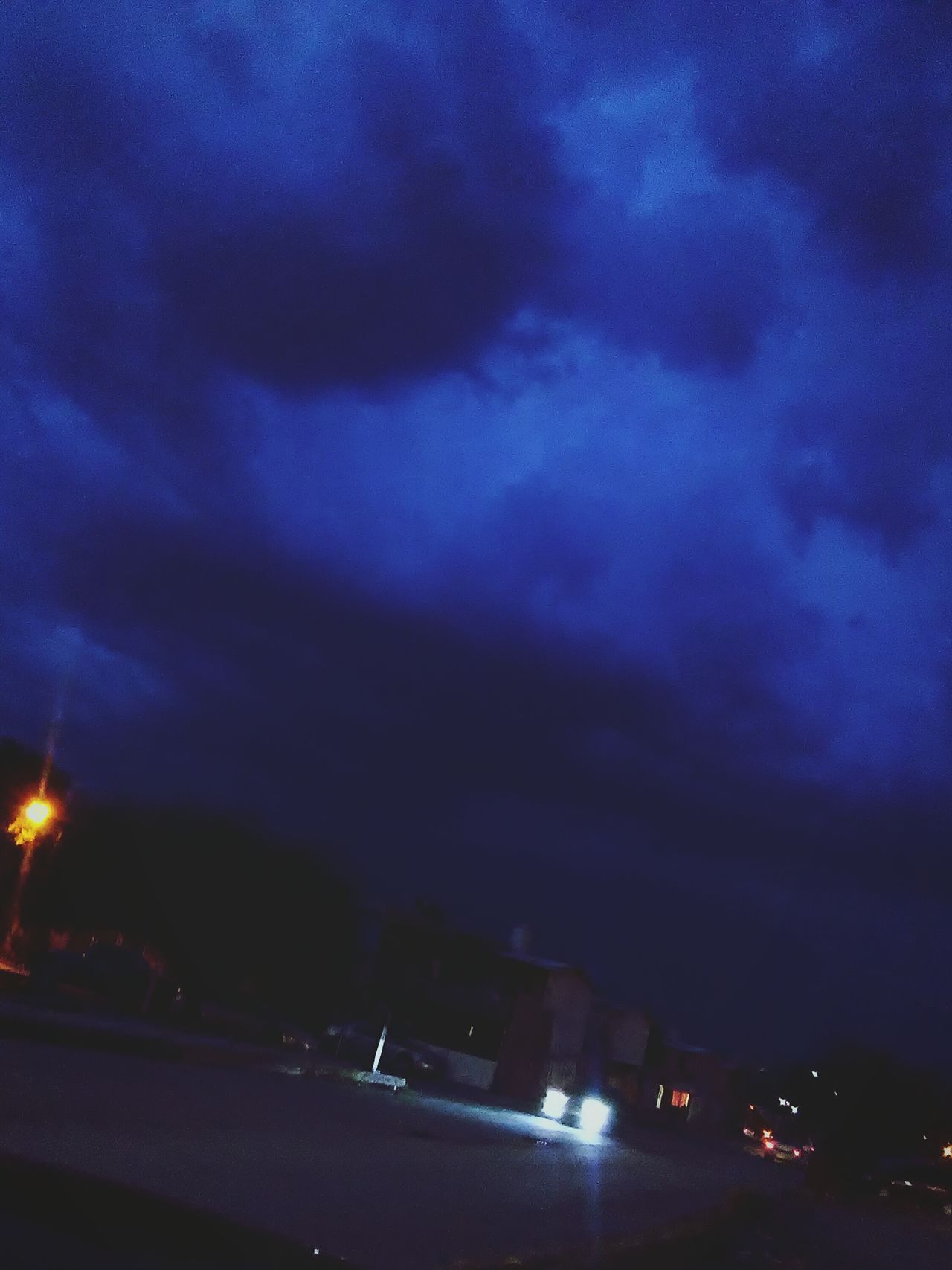 Sky Night Nightphotography Rain Rainy Days Mexico Monclova Coahuila, México Photography Nature Blue Sky Blue