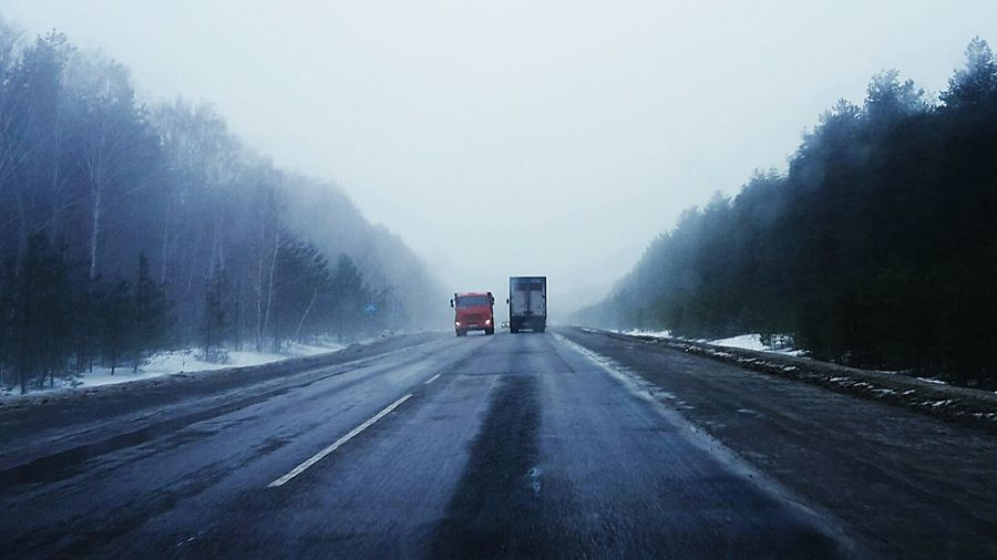 Winter, Russia.