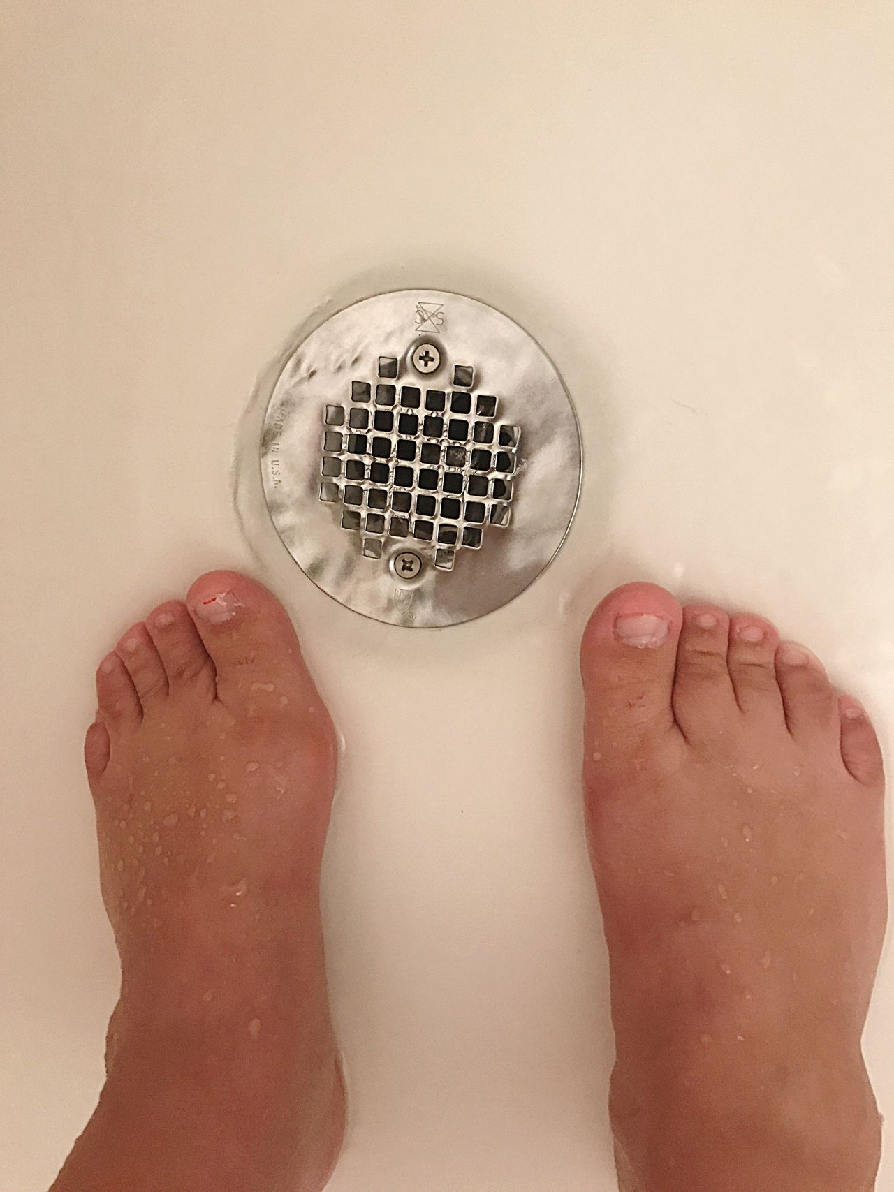Shower Toes Toesies Ugly Feet Cute Feet Right Foot Left Foot Foot Feet Shower Woman Barefoot Women Adult Water