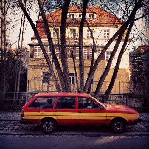 Car Spotting at Prießnitzstraße Car Spotting