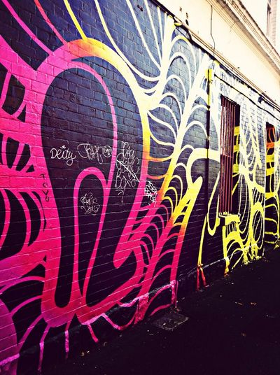 Street Art Melbourne Travel Diary Urban Geometry