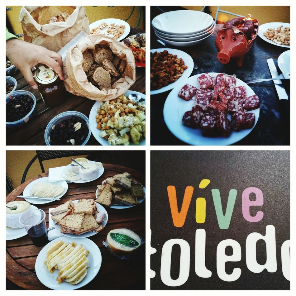 A Taste Of Life Toledo Spain Tastyfood Unforgettable Moment Partytime Rooftopterrace Friendship Funny Moments Secretplace Internationalfood
