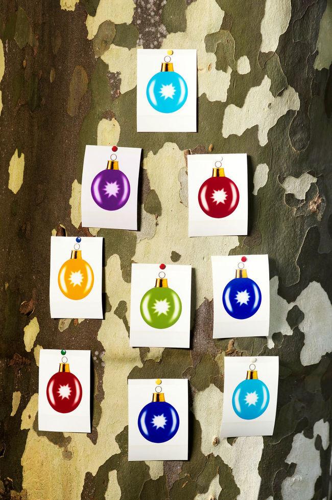 coloured christmas balls photographs on the tree Christmas Balls Christmas Decorations December Holiday Nativity Tradition Meets Modern Xmas Xmas Decorations Xmas Time Xmas Tree