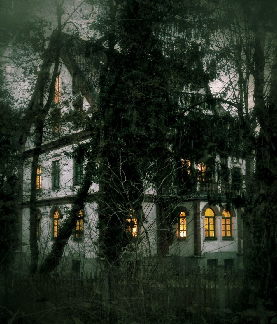 House Horror Witchhouse Darkness And Light Window