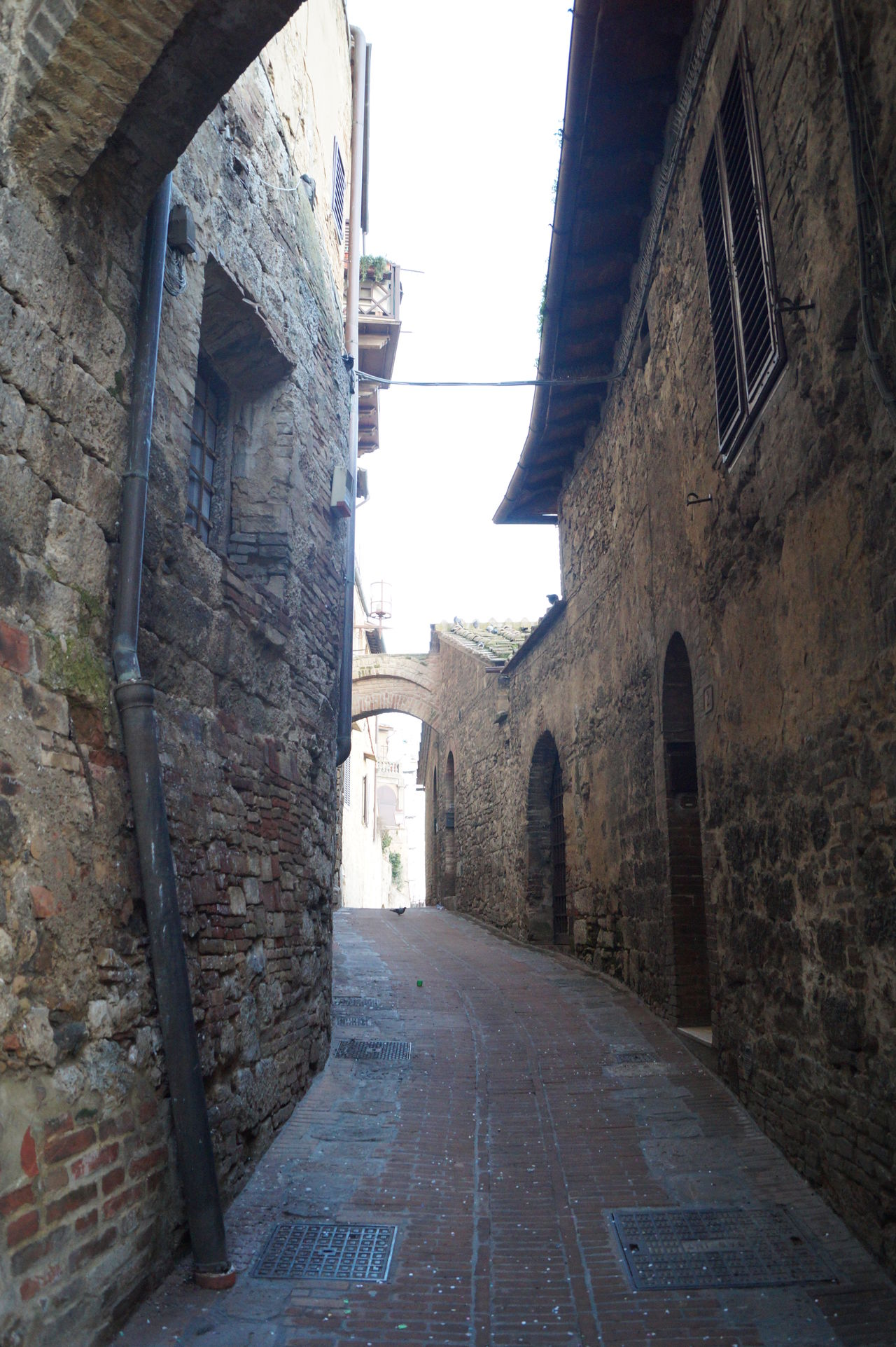 Architecture Building Exterior Built Structure Day History Italia No People Outdoors Sky The Way Forward Toscana ITALY Vicolo Del Paese
