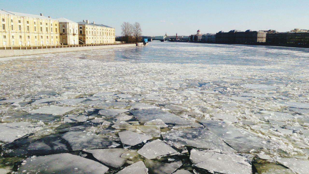 Neva River getting ready for Springtime.Landscapes With WhiteWall Mobilephotography Mobile Photography Sony Xperia Zr Neva River Ice Melting Ice Spring Cityscapes Cityscape Urbanphotography City View  River View Urban Nature
