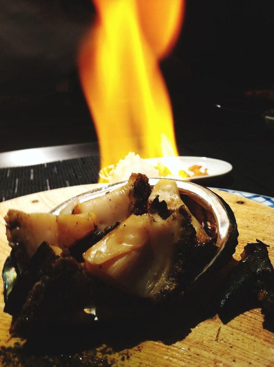 京都府 旅行 食事 Japan Kyouto Traveling Dinner Food Japanese Food Abalone