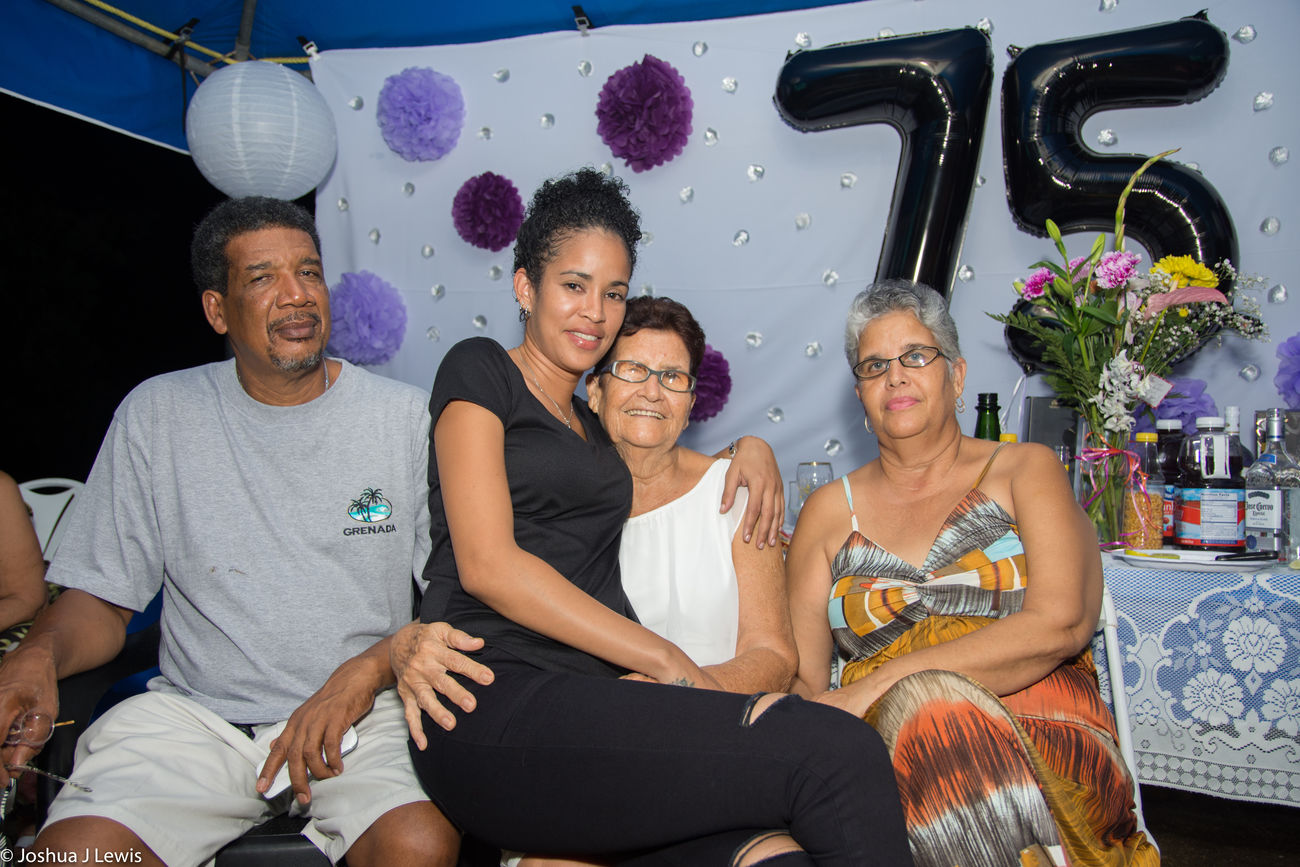 Togetherness Bonding Happiness Real People Party - Social Event Love FamilyTime Beautiful Trinidad And Tobago Caribbean Laughing Birthdayparty Stillife Beautiful People Looking At Camera Smiling Casual Clothing Sitting Granny Mid Adult
