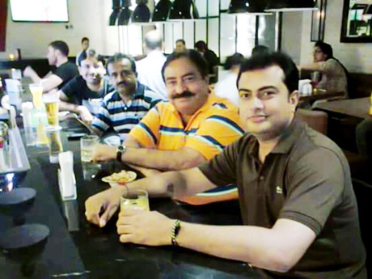 At Dubai Enjoying Life