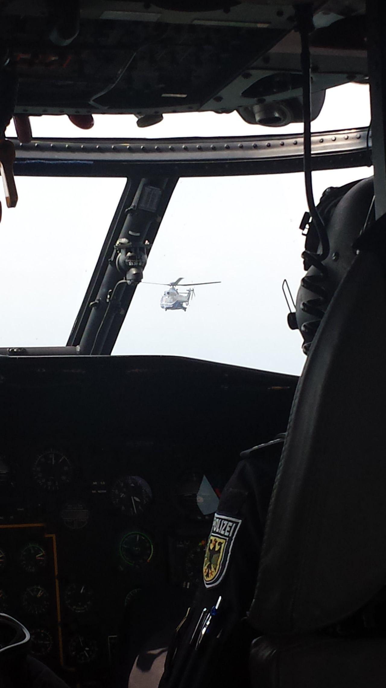 Police Polizei Polizeieinsatz Hubschrauber  Bundespolizei