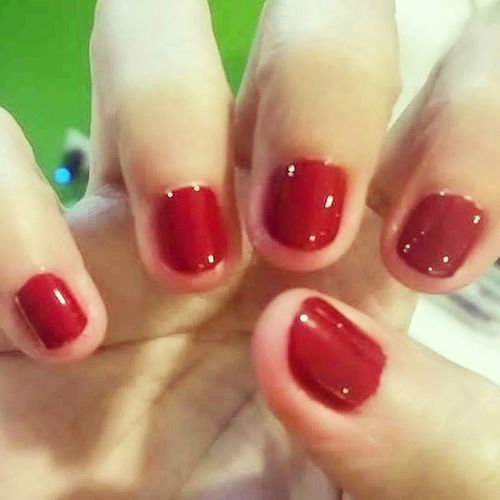Red Nails OhiLoveiT💅💅💅💋💋💋👍👍👍