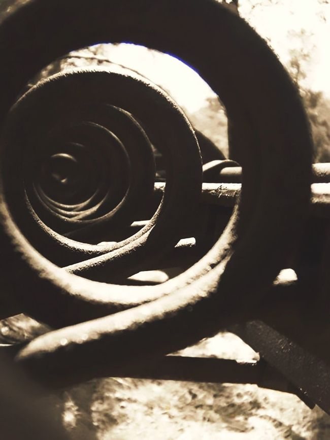 Twisted. Taking Photos EyeEm Best Shots Getting Creative Light And Shadow Perspective Minimalism Photography Steel Farm Tools Atmospheric Mood Hello World Creative Industrial Farm Life EyeEm Getting Inspired Photo Relaxing Enjoying Life New View Textures And Surfaces Abstract Composition