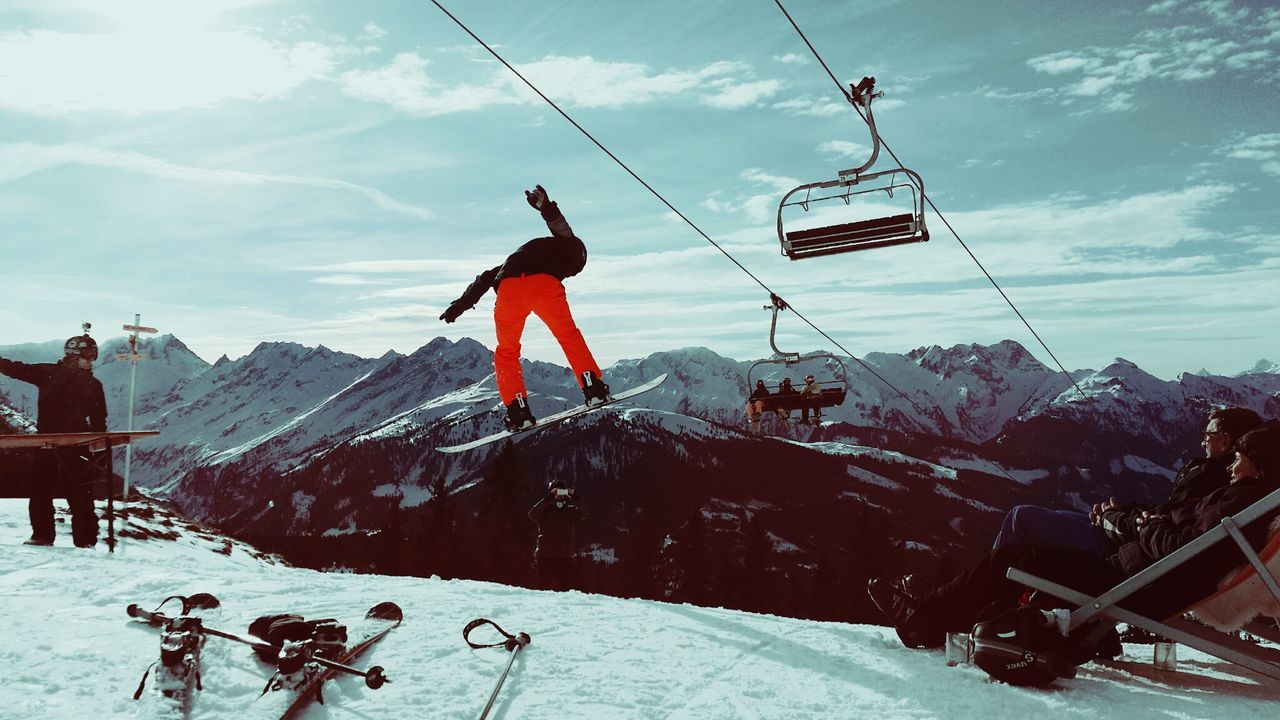 Enjoying Life, ski, austria