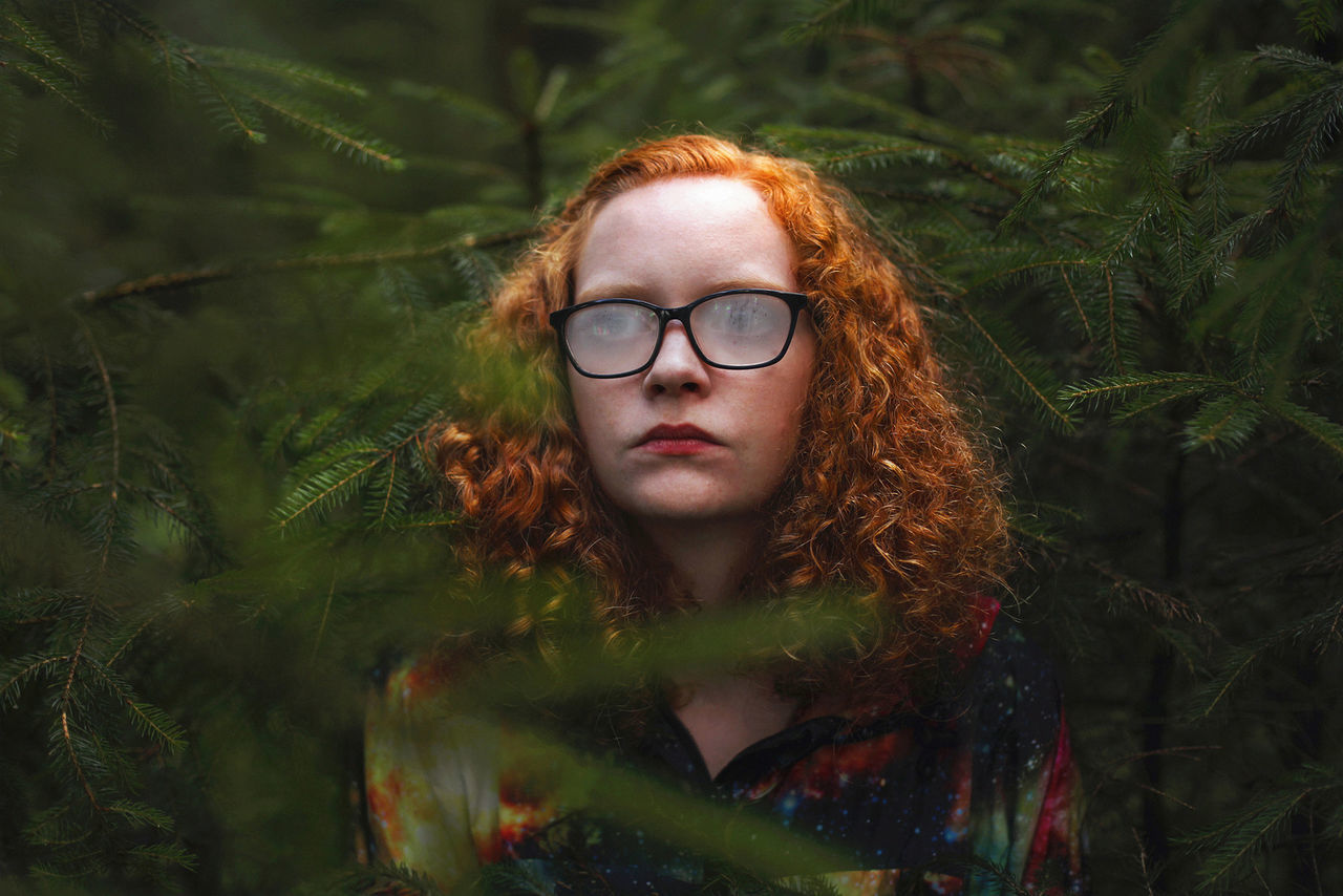 Kevin Ramolla Kevin Ramolla 50mm Girl Forest Portrait 50mm 1.4 Surreal Art Dark Nature Outdoors Photography Surreal Wood