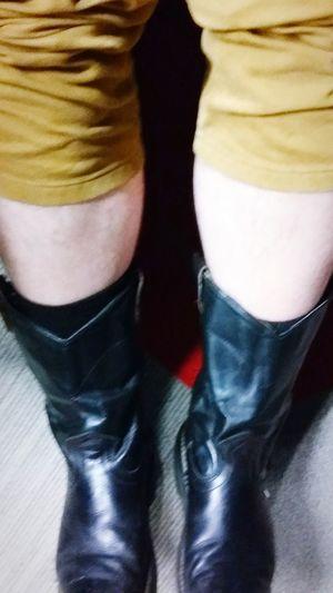 Hoy hizo mucho calor y yo con mis botas. Norestecaliente Veranocruel Chamorros