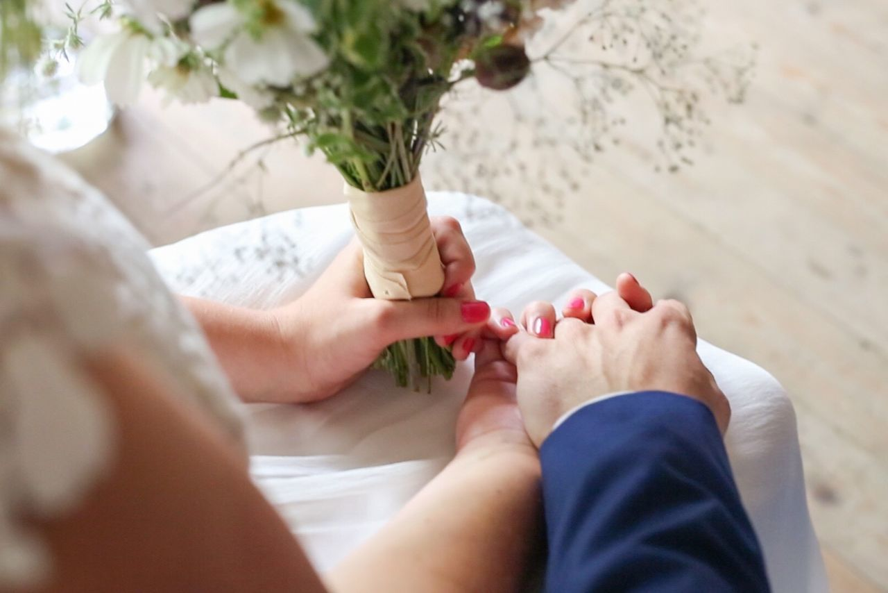 Beautiful stock photos of wedding, human body part, lifestyles, real people, human hand
