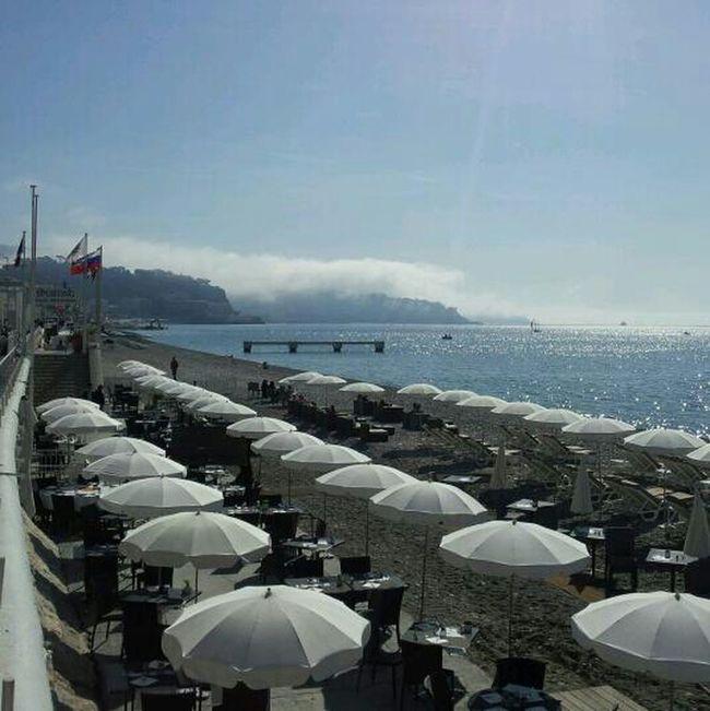 Beach Taking Photos Plage Côte D'Azur