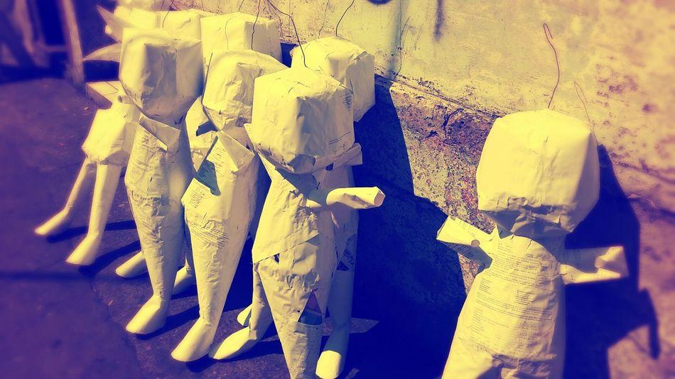 Guatemala Blank Piñata Faceless