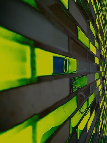 Green Color Multi Colored No People Close-up Neon Day Tile Backsplash