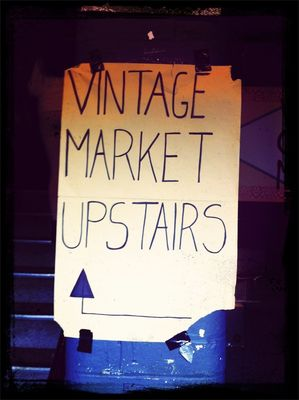 Vintage shopping at Brick Lane Market by Meutia Pudjowarsito