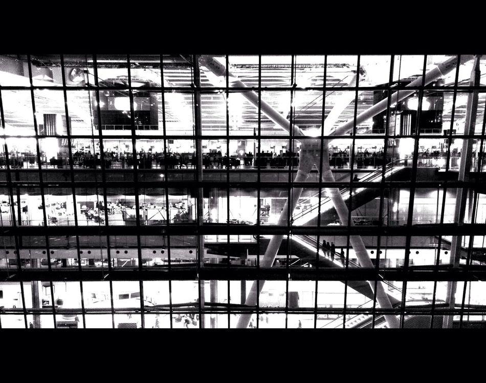 Cosmos. Blackandwhite Architecture Airport 1.78:1