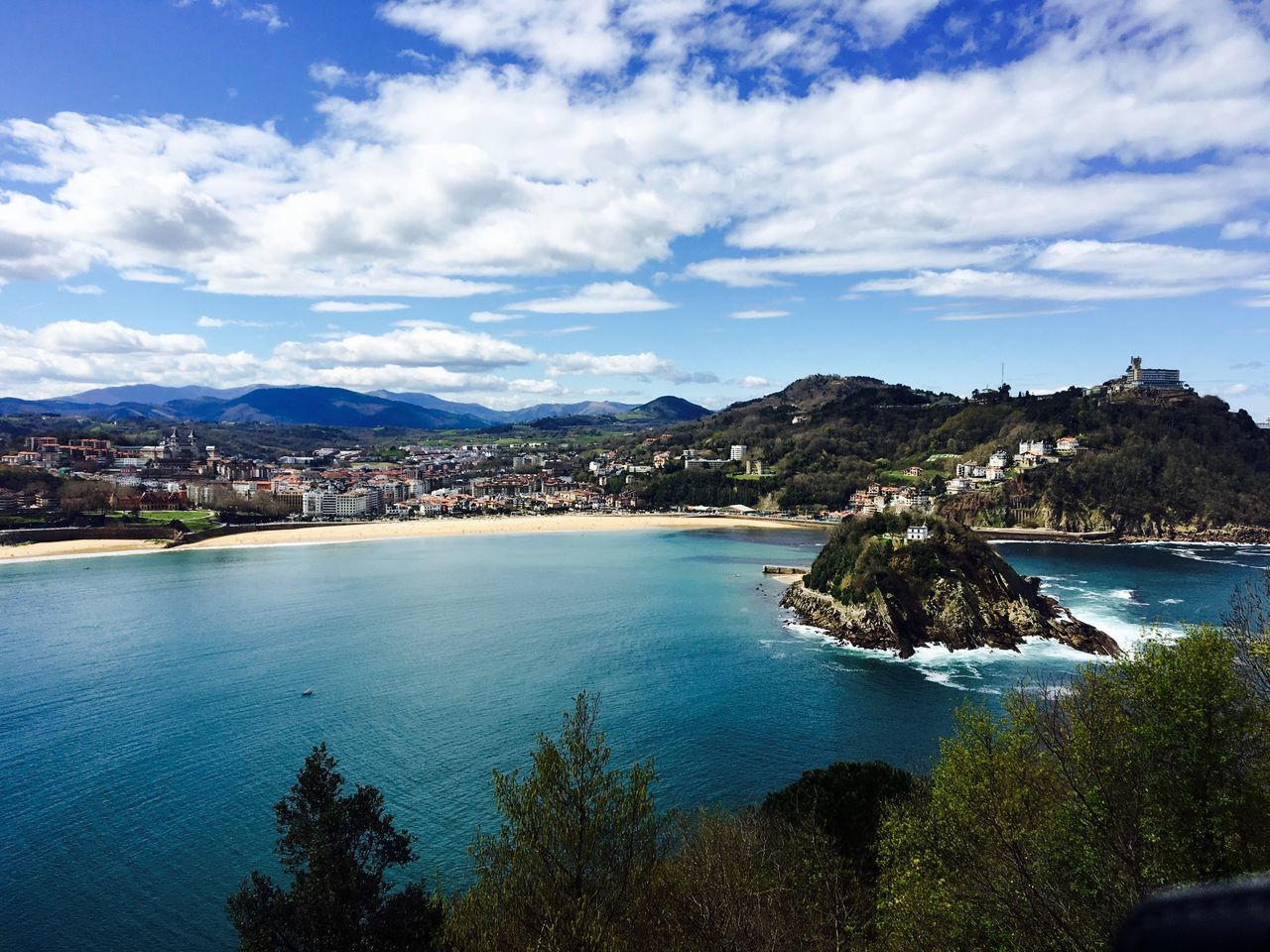 Island San Sebastian San Sebastian Beach Sea Sea And Sky SPAIN Travel Wanderlust Water