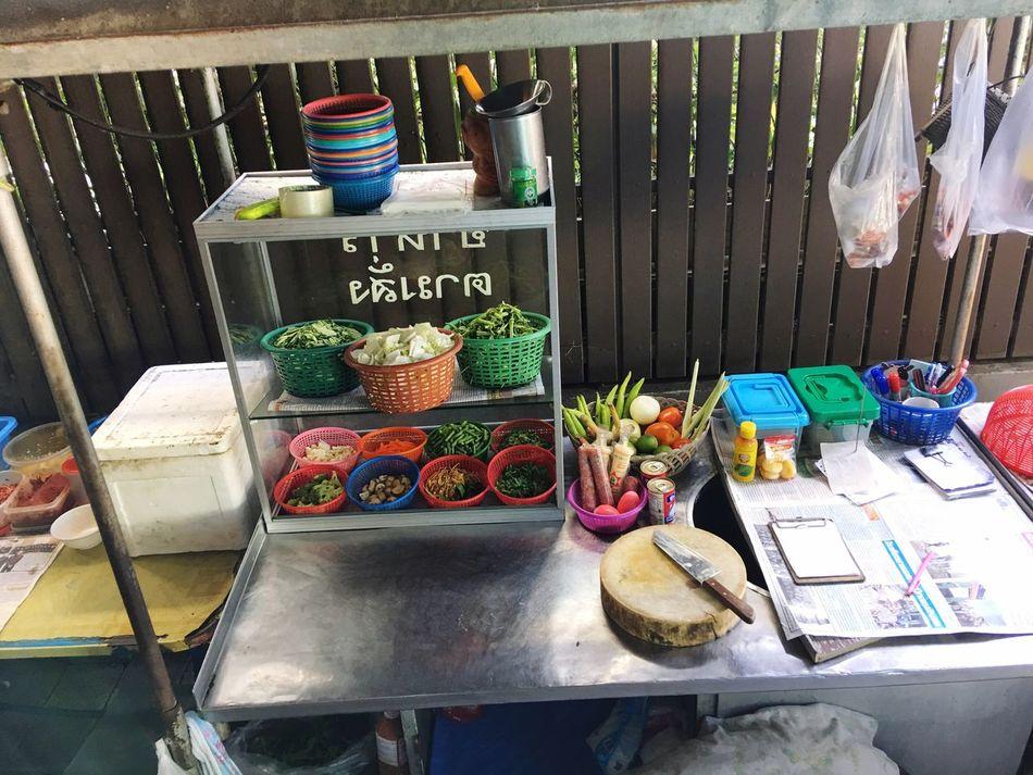 Variation Choice Retail  Shelf For Sale Food Market Restaurant Vegetables Cooked To Order Ordering Food