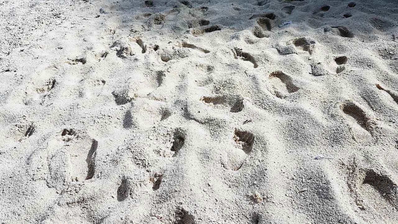 Footprints of the past Sand FootPrint Mobile Photography White Sand Siquijor Visayas By The Seaside