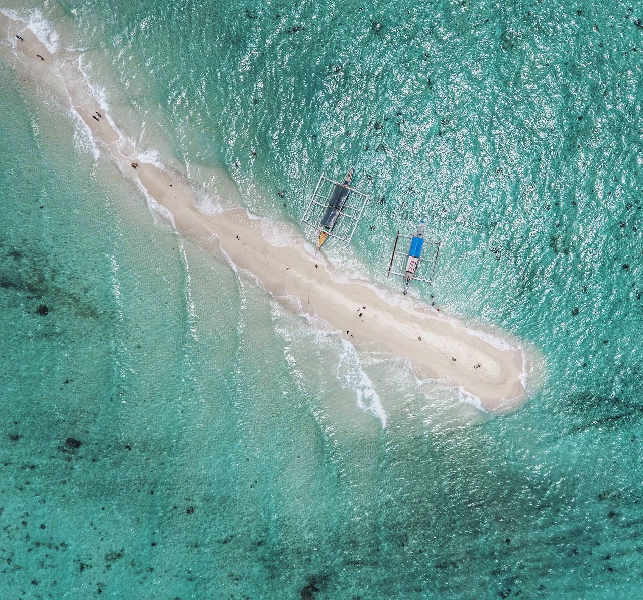 Water Beach Sea Vacations Shore High Angle View Sand Sandbar Ocean Travel Tourist Tourism Tranquil Scene Tranquility Relaxation Scenics Travel Destinations Nature Traveling Eyeem Philippines Whitesand Calm Tour Drone  The Week On EyeEm