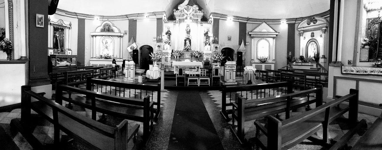 Tacna, Perú Church Black And White