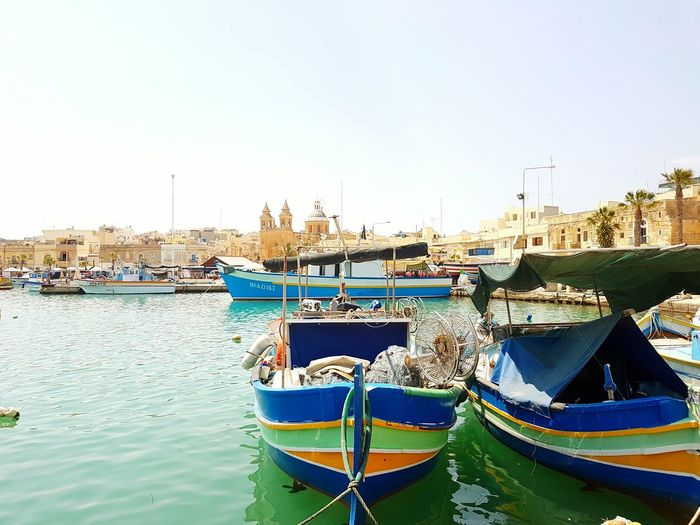 The marvelous Malta! Vivid Eyeemphotography Malta Summertime Vivid Colours  Boats And Water Boat Beautiful EyeEm Gallery The Essence Of Summer EyeEm The Best Shots Marvelous Marina Eyeem Market Mobilephotography Traveling Sea Tourist Travel EyeEmBestPics EyeEm Masterclass EyeEm Sea Collection Europe Trip Amazing Colour Of Life