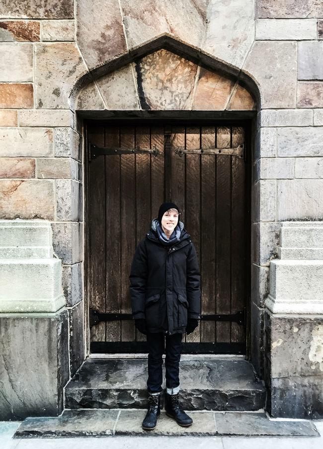 Ty C Doorway UWS | Manhattan Winter 2016 Oldsoul Manhattan NYC Timyoungiphoneography