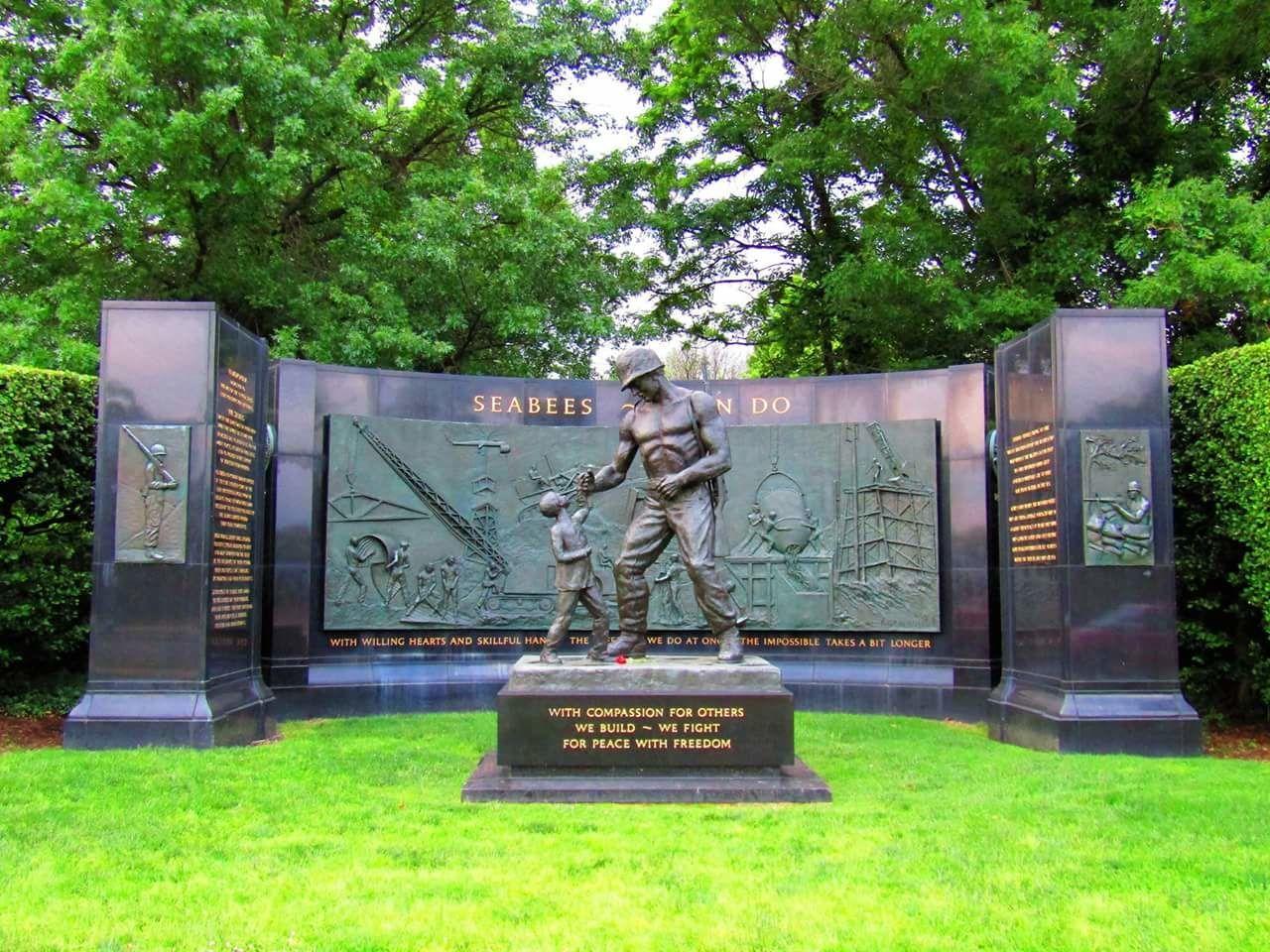 Seabees Seabee History Memorial Washington, D. C. USA This Week On Eyeem Cannon Powershot SX420 IS BestofEyeEm Best Of EyeEm No People Monument Memorial Day Remember The Fallen