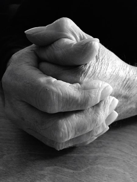 EyeEm Selects Human Hand Human Body Part Human Finger Wrinkled Close-up Human Skin One Person Senior Adult Indoors  Real People Fragility Old Aged Adult Shadows & Lights Monochrome Elderly Retired Old Man Waiting Aging Black And White Black & White Black And White Photography
