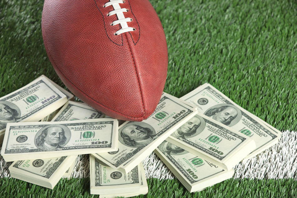 Beautiful stock photos of geld, American Football  - Sport, American Football - Ball, American Football Field, American One Hundred Dollar Bill