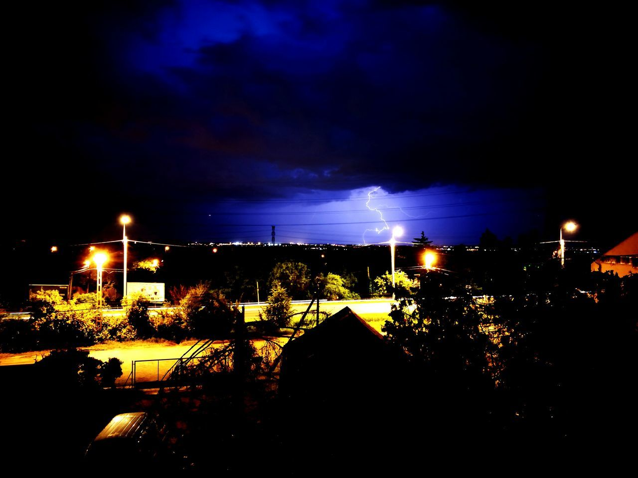Thunder Taking Photos Hello World