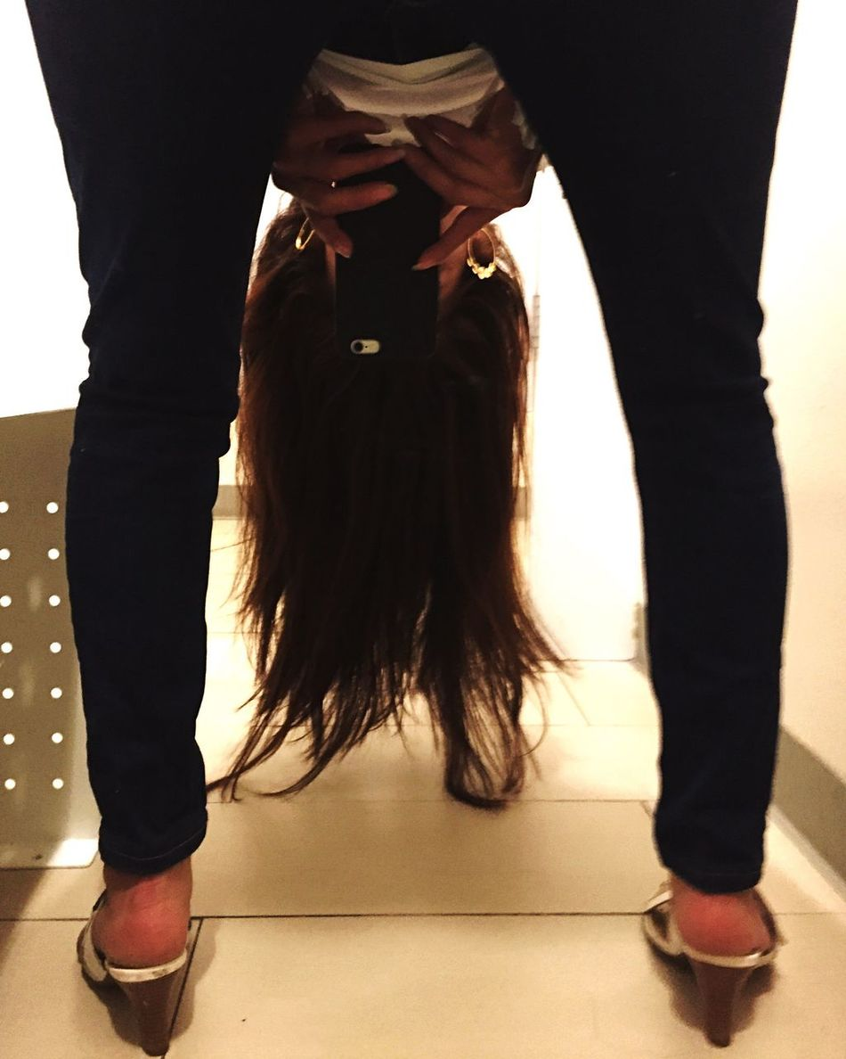 Ja Lol :) LOL! Just For Fun Legs And Feet Haircolor Pelo Cabello Hair Red Hair Two Is Better Than One