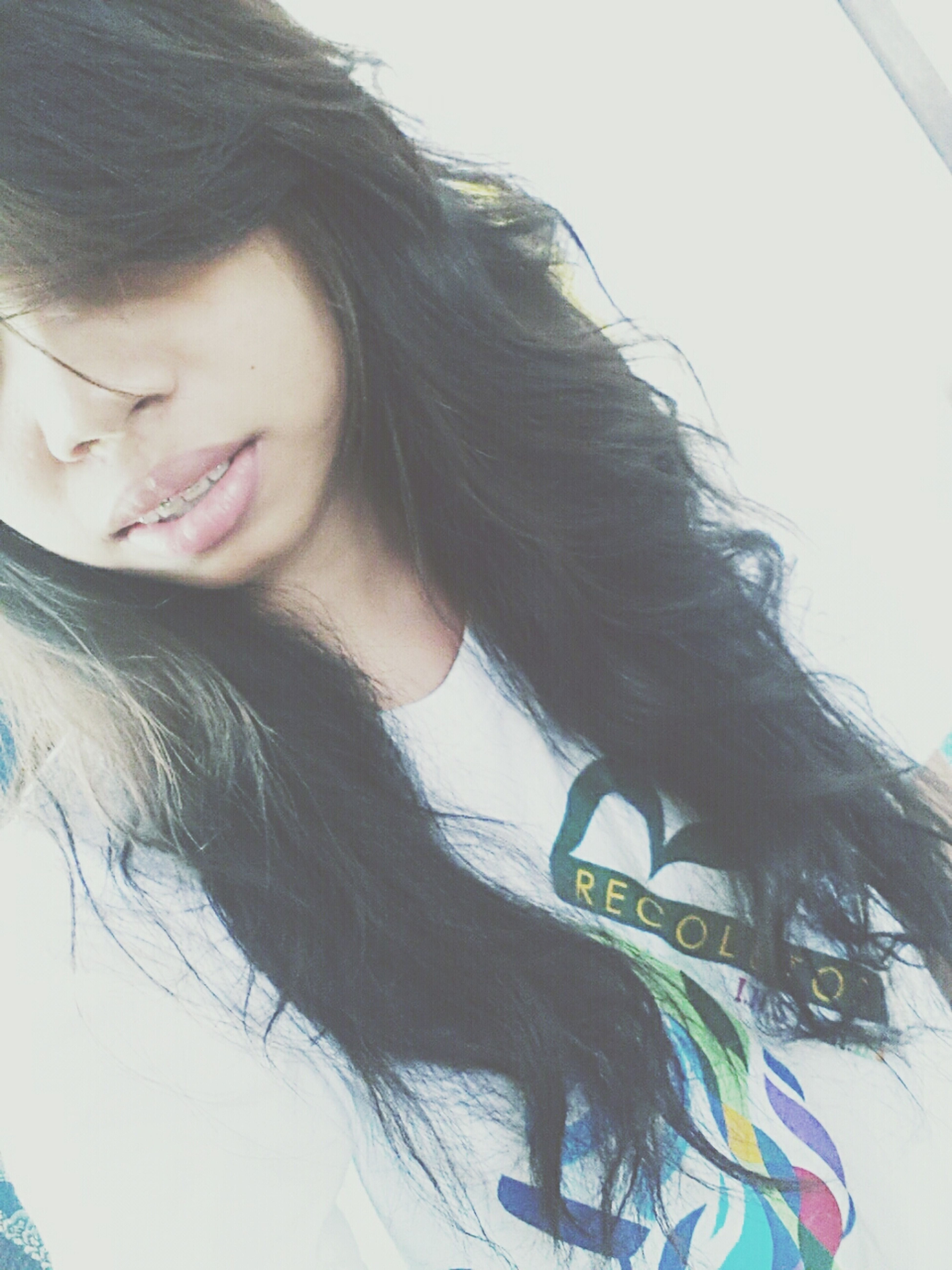 Dear Hair, will you please stay longer like this? :3