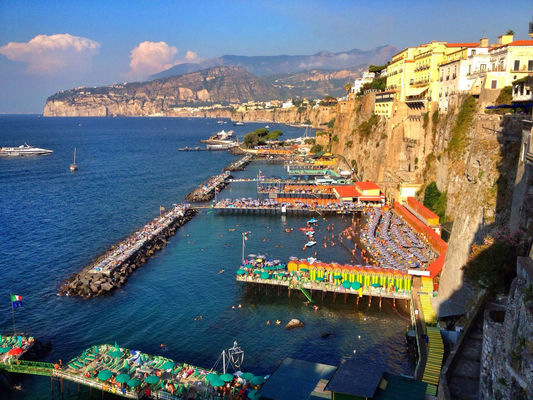 Taking Photos at Hotel Bellevue Syrene 5* Sorrento, Italy by Bob Van Dusen