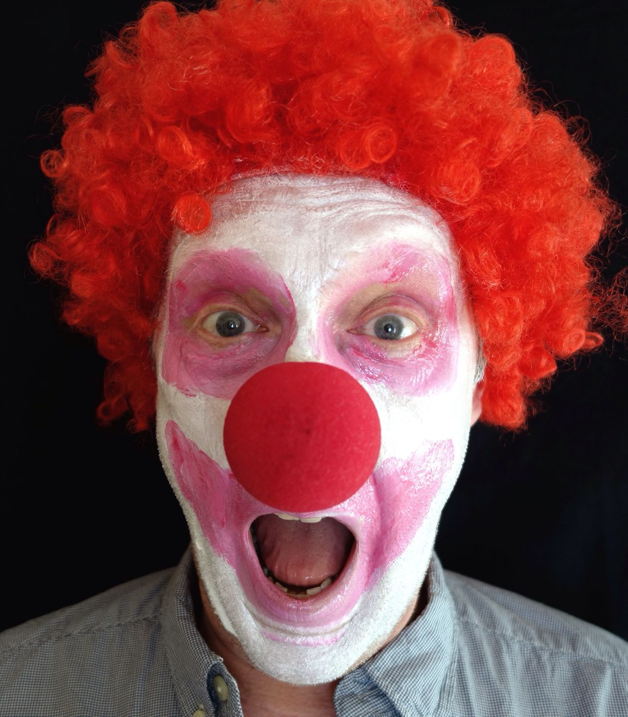 Beautiful stock photos of clown, Black Background, Close-Up, Clown, Creativity