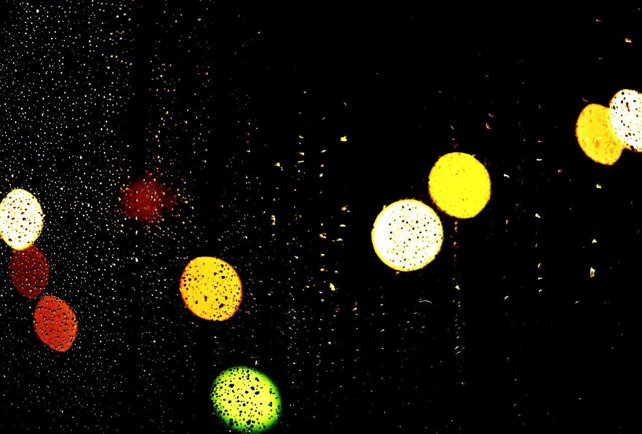 Filmphotography Lights Night Bokeh Lights Yashicafx3super2000
